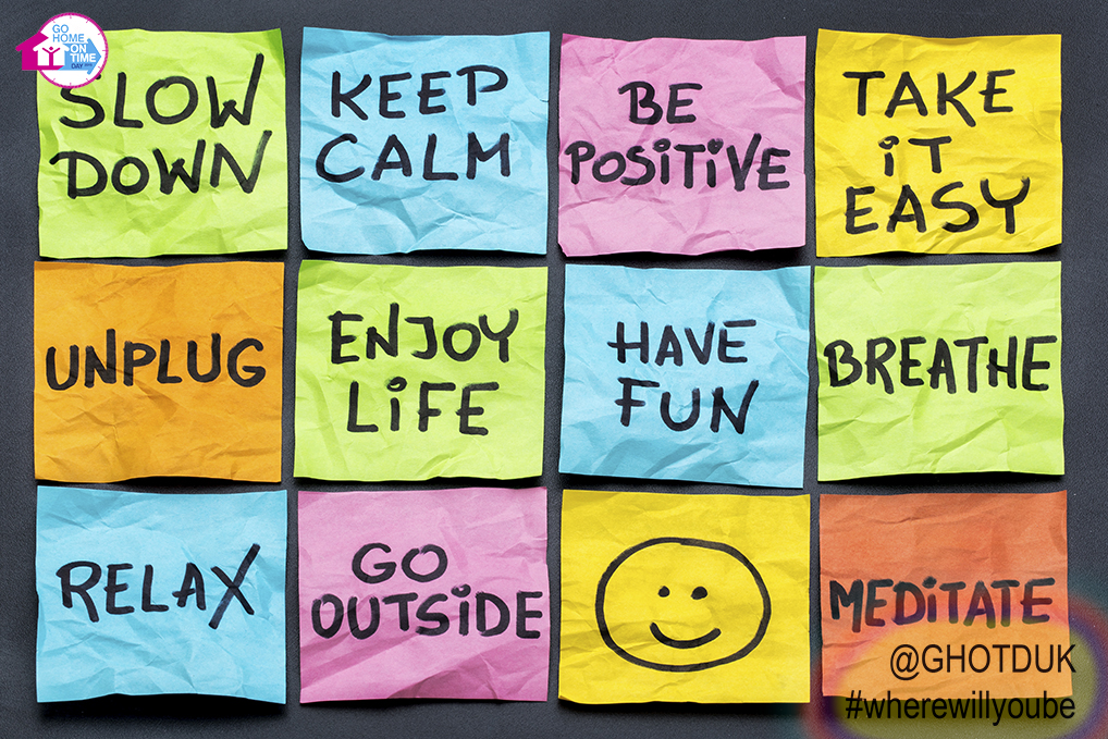 Don't be stressed sticky notes